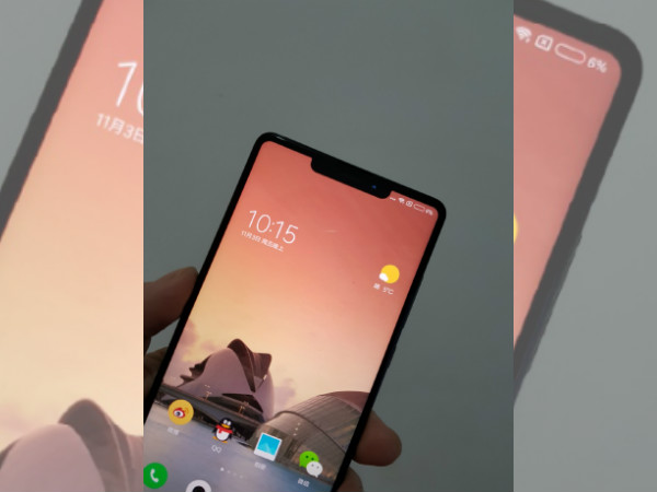 Xiaomi Mi Mix 2s seen with iPhone X-like notch is fake