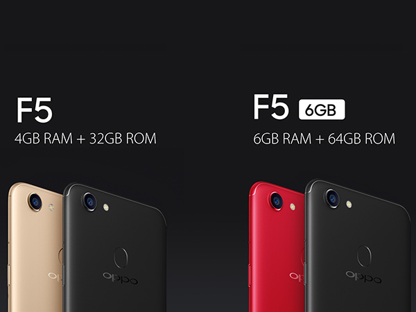 OPPO F5: AI enabled Selfie Expert for perfect Selfies