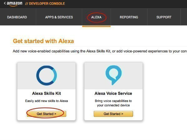 How to build custom Alexa Skill for Amazon Echo devices