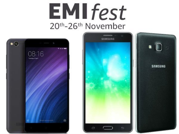 Amazon's EMI Fest on budget smartphones begins