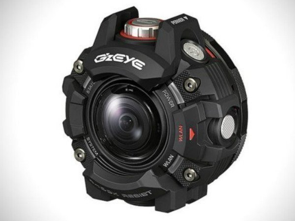 Casio launches GZE-1 EYE rugged action camera for extreme sports fans