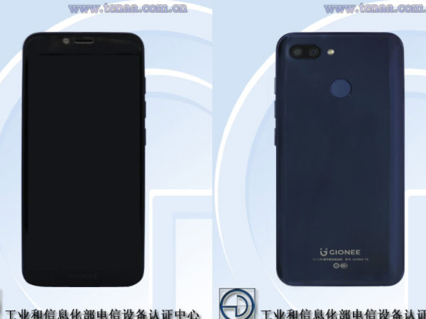Gionee F6 spotted on TENAA ahead of November 26 launch
