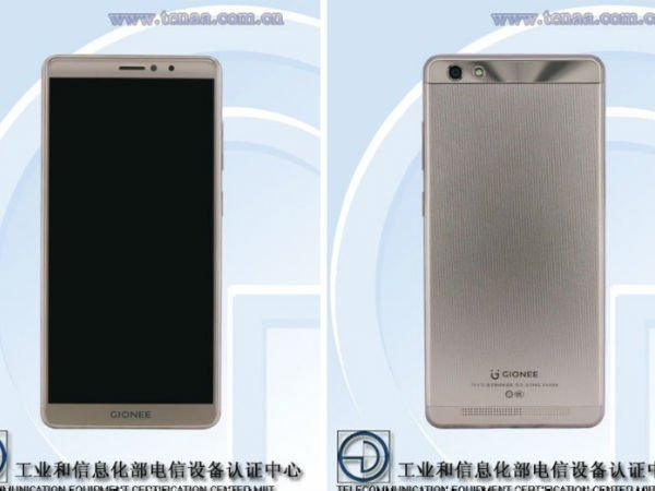Gionee GN5006 visits TENAA with Android Nougat, 4,000mAh battery