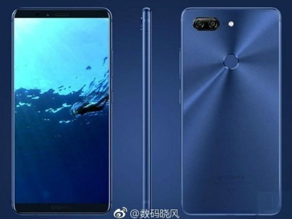 Gionee M7 Plus renders and press images spotted in the wild
