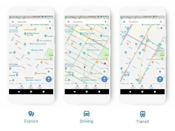Google Maps got a redesign