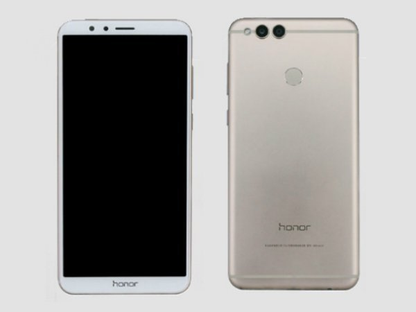 The Honor 7X looks an terrible lot like the Honor 8 Pro