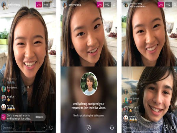 Instagram lets users join an ongoing livestream