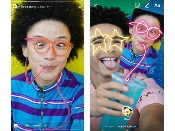 Instagram lets users remix photos sent via direct messages