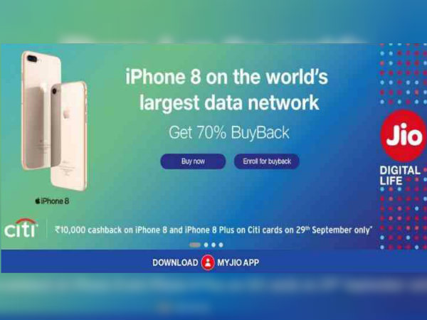 Reliance Jio is offering 70 percent buyback on Apple iPhone X