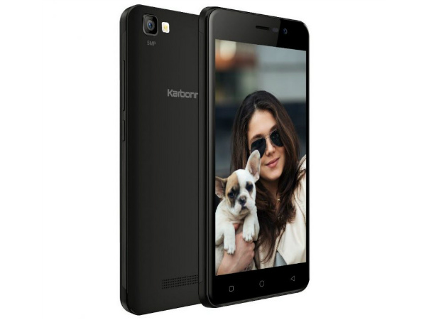 Karbonn K9 Smart Selfie with 8MP selfie camera launched for Rs. 4,890