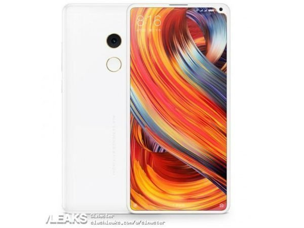 Leaked Xiaomi Mi Mix 2s photo shows a notch on the display's upper right corner