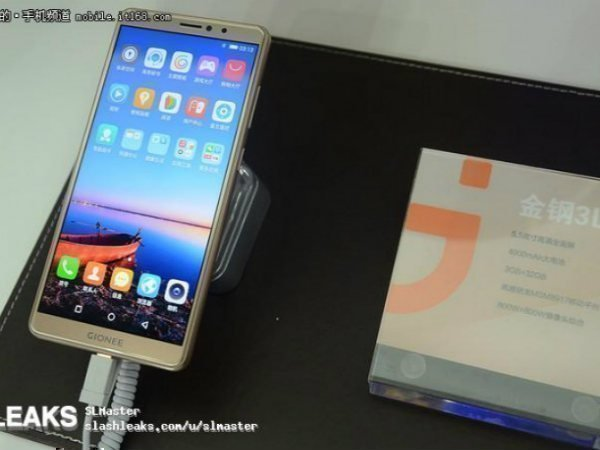 Live photos of Gionee S11, S11S, F6 and Steel 3 emerge online