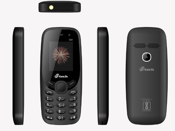 M-tech G24 feature phone with selfie camera launched in India