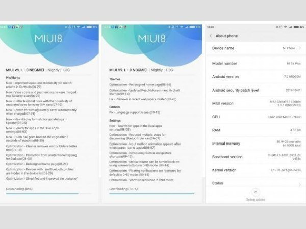 Xiaomi Mi 5 and 5s Plus now start receiving MIUI 9 update