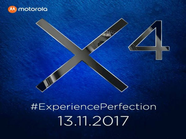 Motorola sends invites for Moto X4 launch in India on November 13