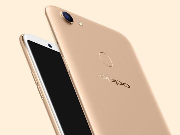 OPPO's latest AI technology makes OPPO F5 a unique Selfie Smartphone