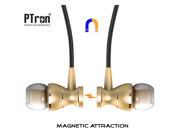 PTron Magg are wired magnetic earphones at just Rs. 499