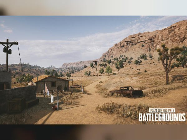 Nvidia releases five new screenshots of the upcoming PUBG desert map