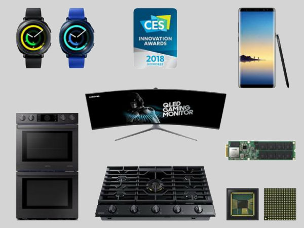 Samsung wins 36 CES 2018 Innovation Awards for its excellent products