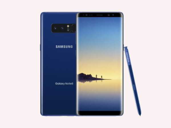 Deep Sea Blue colored Samsung Galaxy Note 8 now launching in the US