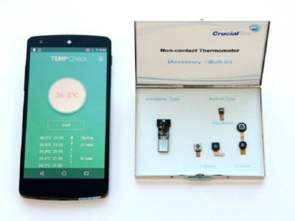 Smartphones with thermometer sensor will be unveiled soon