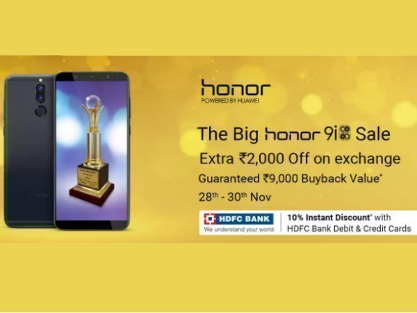 Honor 9i is now available for purchase on Flipkart: Offers and more