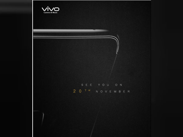 Vivo launching a new smartphone on November 20; press invites out