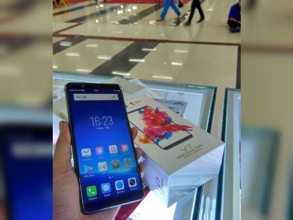 Vivo V7 hands-on images leaked along with specs lineup