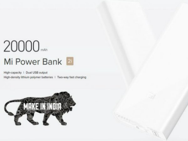 Xiaomi launches 'Made in India' power banks starting from Rs. 799