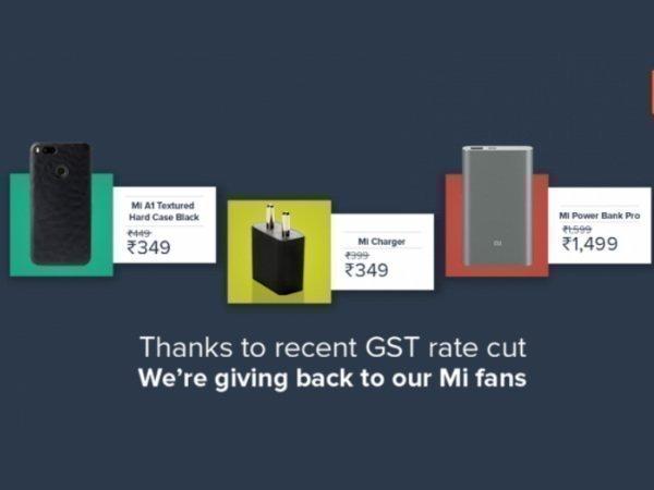 Xiaomi Mi accessories receive a price cut in India