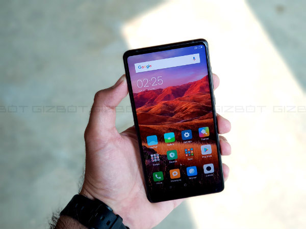 Xiaomi Mi MIX 2's first regular flash sale to happen at 12 PM today