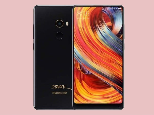 Xiaomi Mi Mix 2 Starck Edition and Black Ceramic Edition launched