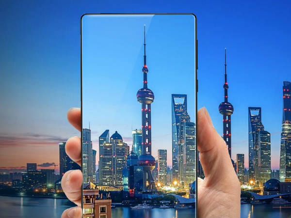 Is Xiaomi working on a new smartphone with Edge Sense feature?