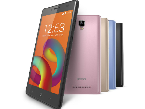 Zen Admire Unity with 4G VoLTE is official at Rs. 5,099