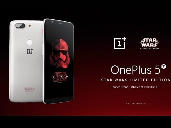 OnePlus 5T Star Wars Edition launch event tickets sold out in seconds