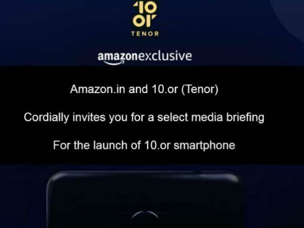 Amazon India launching a new 10.or smartphone tomorrow
