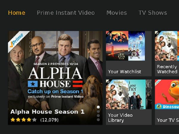 Amazon Prime Video for Android TV spotted on Google Play