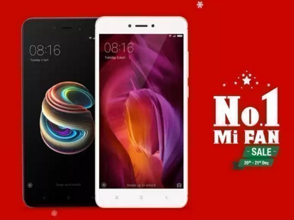 Mi Fan sale on Flipkart: Offers on Mi A1, Redmi Note 4, Mi Mix 2