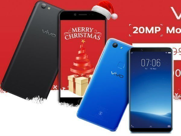 Christmas offers on Samsung, Vivo, Xiaomi, Gionee and more smartphones