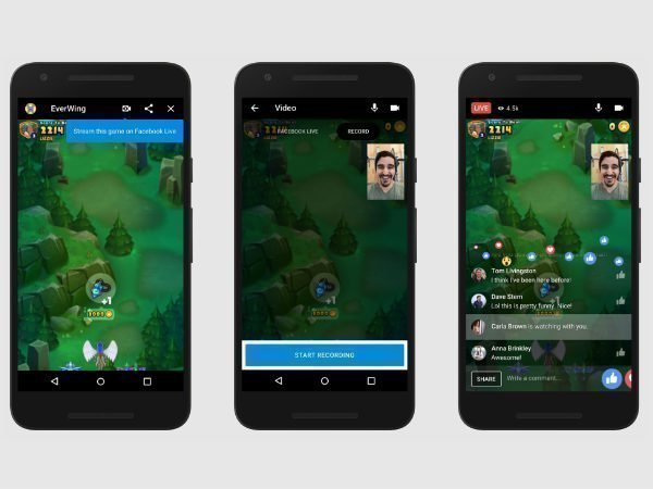 Facebook to bring live streaming and video chats to Instant Games