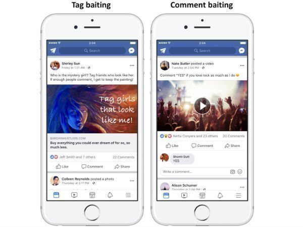 Facebook to demote posts that use engagement bait for greater reach