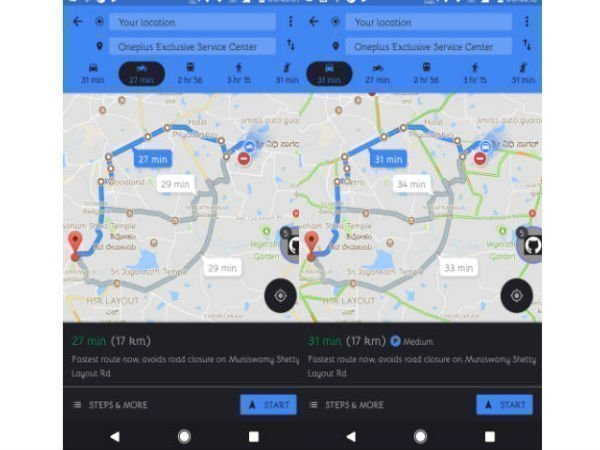Google Maps' 'Motorcycle mode' is a boon for bikers