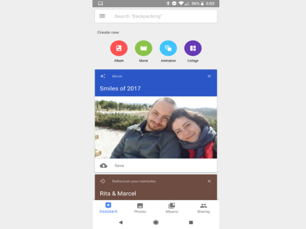 Google starts rolling out 'Smiles of 2017' on Google Photos