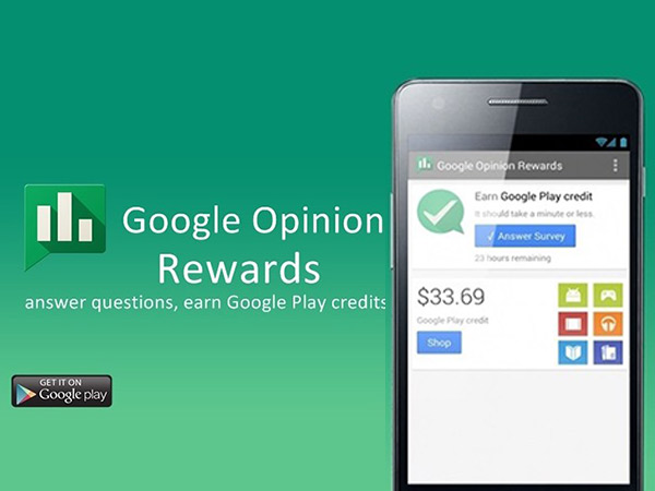 How to use Google Opinion Rewards app and earn Play Credits