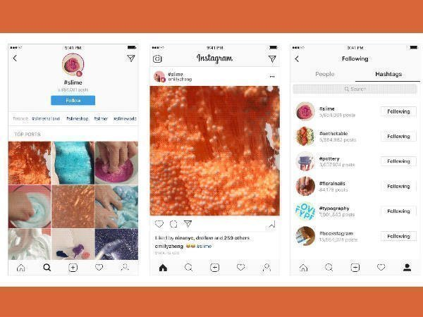 Instagram now lets you follow hashtags with the latest update