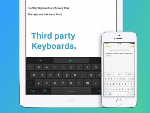 Know everything about third-party Keyboards that can collect personal information