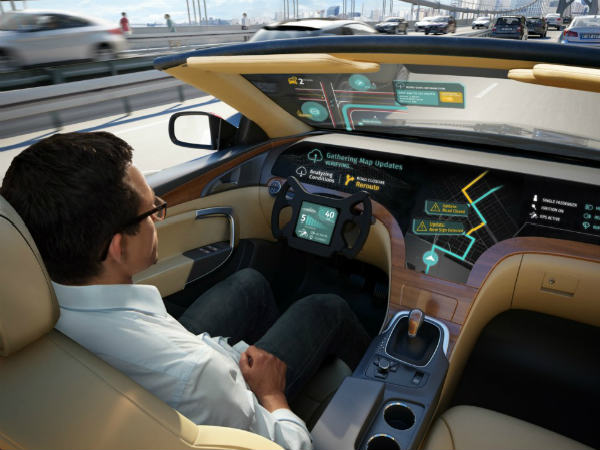 LG and HERE Technologies team up for self-driving cars