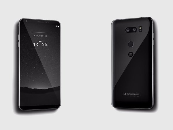LG V30 Signature Edition launched: Costlier than Apple iPhone X