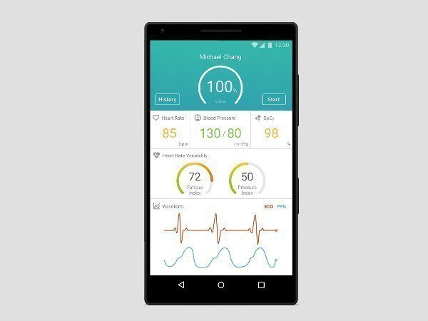 MediaTek unveils MediaTek Sensio: World's first 6-in-1 smartphone biosensor module
