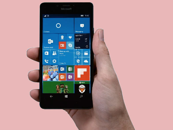 Microsoft Windows Phone prototype with Surface Pen support spotted